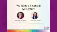 Preconference Workshop | Financial Navigation—Adapting to the New Normal Changes r/t COVID, The New Financial Landscape