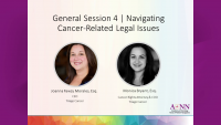General Session 4 | Navigating Cancer-Related Legal Issues
