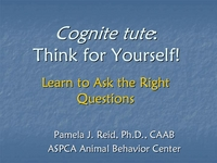Cognite tute: Think for Yourself! Learn to Ask the Right Questions