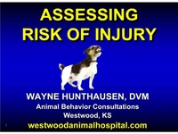 How Dangerous Is He? Assessing the Risk of Injury by Aggressive Dogs