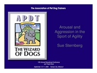 Arousal and Aggression in the Sport of Agility