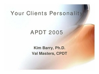 Working with Clients Based on Their Personality Type