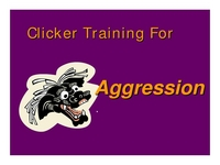 Clicker Training for Aggression