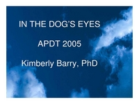 In the Dog's Eyes: Bringing Workability and Freedom to Our Relationship with Dogs