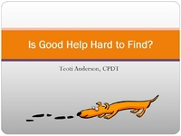 Is Good Help Hard to Find?