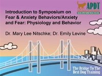 Introduction to Symposium on Fear & Anxiety Behaviors/Anxiety and Fear: Physiology and Behavior