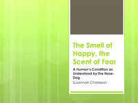 The Smell of Happy, the Scent of Fear: A Human's Condition as Understood by the Nose-Dog