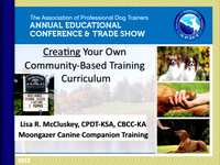 Creating Your Own Community-Based Training Curriculum