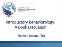 Introductory Behaviorology: A Book Discussion