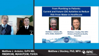From Plumbing to Patients: Current and Future CDC Activities to Reduce Risk from Water in Healthcare