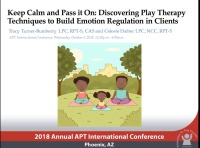 Keep Calm and Pass it On: Discovering Play Therapy Techniques to Build Emotion Regulation in Clients
