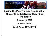 Ending the Play Therapy Relationship: Thoughts and Activities Regarding Termination