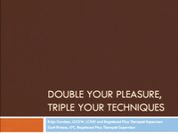 Double Your Pleasure & Triple Your Techniques: Play Therapy Techniques from Different Perspectives!