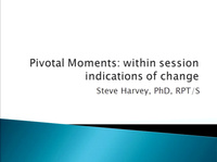 Pivotal Moments: Within Session Indications of Change