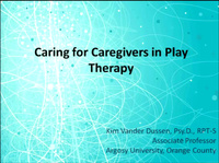 Caring for Caregivers in Play Therapy Treatment: Children Across the Diagnostic Spectrum from Trauma to Autism