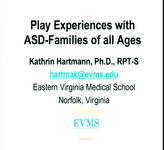 Play Experiences with ASD Families of All Ages