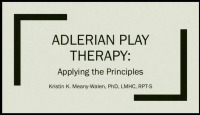 Adlerian Play Therapy: Applying the Principles