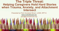 The Triple Threat: Helping Caregivers Hold Children's Hard Stories When Trauma, Anxiety, and Attachment Intersect