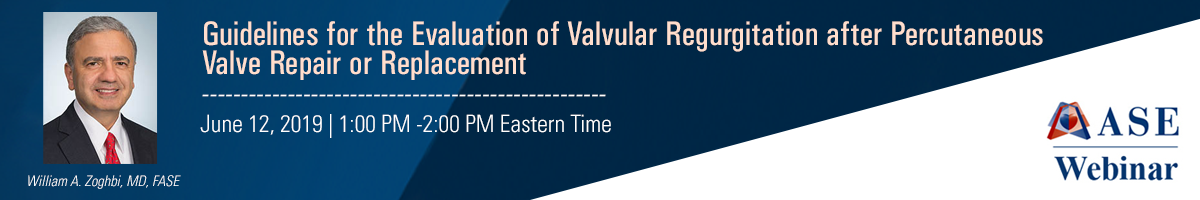 Guidelines for the Evaluation of Valvular Regurgitation after Percutaneous Valve Repair or Replacement
