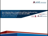 How Collecting Data in ImageGuide will Raise Quality and Save Your Lab Money: A Snapshot from ASE and ASNC