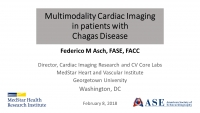 Recommendations for Multimodality Cardiac Imaging in Patients with Chagas Disease Live Webinar