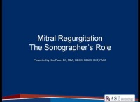 6d. Mitral Regurgitation: The Sonographer's Role