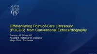 New Frontiers of POCUS - Differentiating POCUS from Conventional Echocardiography