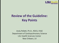 How to Apply the Guidelines: Diastolic Function Update - Review of the Guideline: Key Points