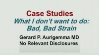 I Want to do Strain in My Echo Lab - Cases: What I Do Not Want to Do? Bad, Bad Strain!