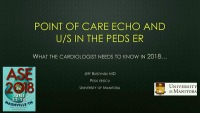 Point of Care Ultrasound (POCUS) - Focus in the Emergency Department