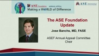 ASE Awards Presentations, Announcements, FASE Convocation, and 29th Annual Elder Lecture - Award Presentations and Recognitions