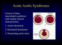 A Multidisciplinary Approach to Aorta - Update on Acute Aortic Syndrome