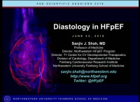 Novel Concepts in Diastology - Diastology in HFpEF
