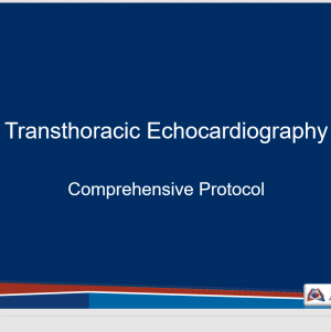 Comprehensive TTE Protocol Teaching Slides