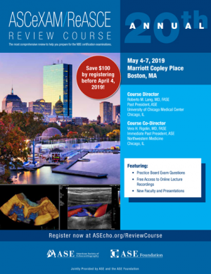 2019 ASCeXAM/ReASCE Review Course