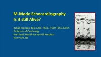 Spectral Doppler and M-Mode Echo Cases