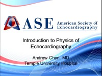 Introduction to Physics of Echocardiography