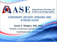 Coronary Artery Disease and Stress Echo