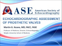 Echocardiographic Assessment of Prosthetic Valves