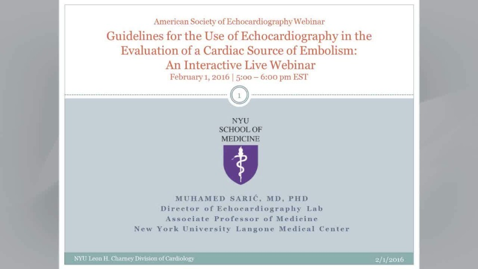 Live Webinar Recording: Guidelines for the Use of