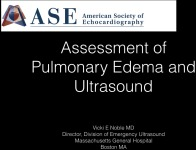 Assessment of Pulmonary Edema and Ultrasound