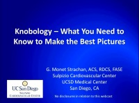 Knobology - What You Need to Know to Make the Best Pictures