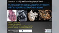 Multimodality Imaging Guidelines of Patients with Transposition of the Great Arteries