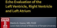 Echocardiographic Evaluation of the Left Ventricle, Right Ventricle, and Left Atrium