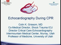 POCUS Basics: Ultrasound for the Critically Ill Patient - Echocardiography During CPR