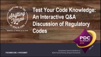 Test Your Code Knowledge: An Interactive Q&A Discussion of Regulatory Codes