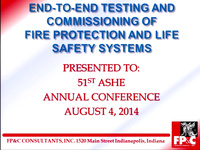 Getting the Most Out of End-to-End Testing and Commissioning of Fire Alarm Systems