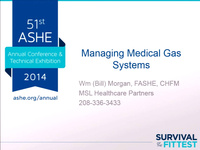 Managing Medical Gas Systems
