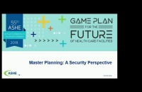Master Planning: A Security Perspective