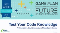 Test Your Code Knowledge – An Interactive Q&A Discussion of Regulatory Codes
